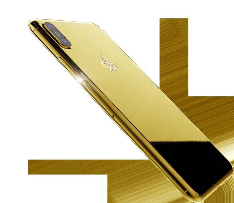 24ct Gold iPhone 11 and 24ct Gold Xs and 24ct Gold iphone Xs Max