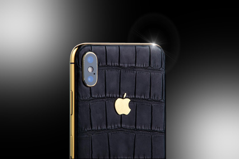 24ct Gold Iphone Xs Black Edition Goldstriker International